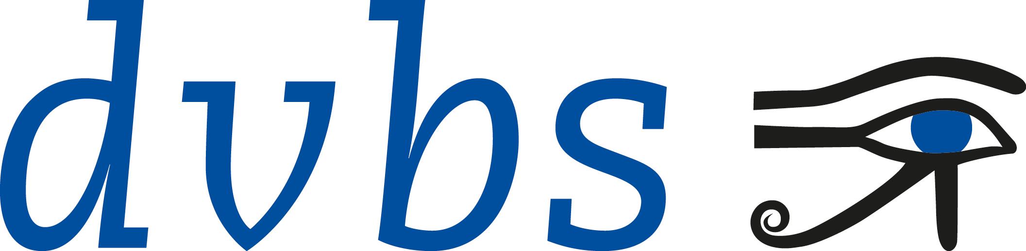 Die Abbildung zeigt das DVBS-Logo.